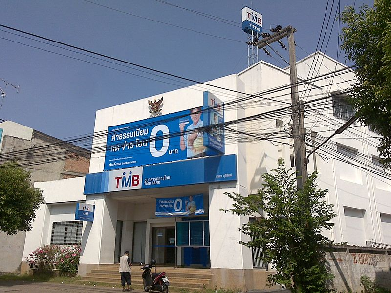 TMB Bank building in Buriram