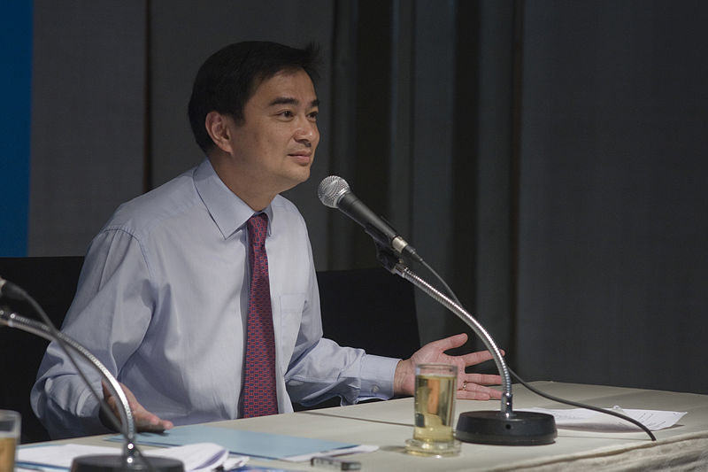 Opposition leader Abhisit declares his reform road map, urging Government to step down