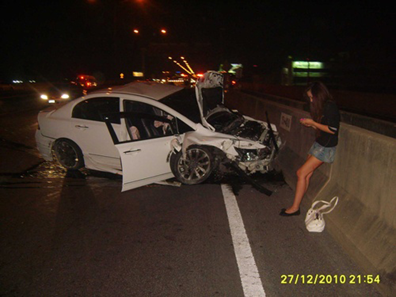 17-year-old teen to be charged on fatal Bangkok tollway crash