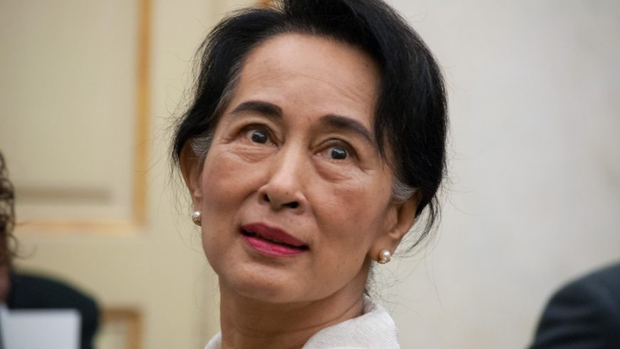 Aung San Suu Kyi in Parma