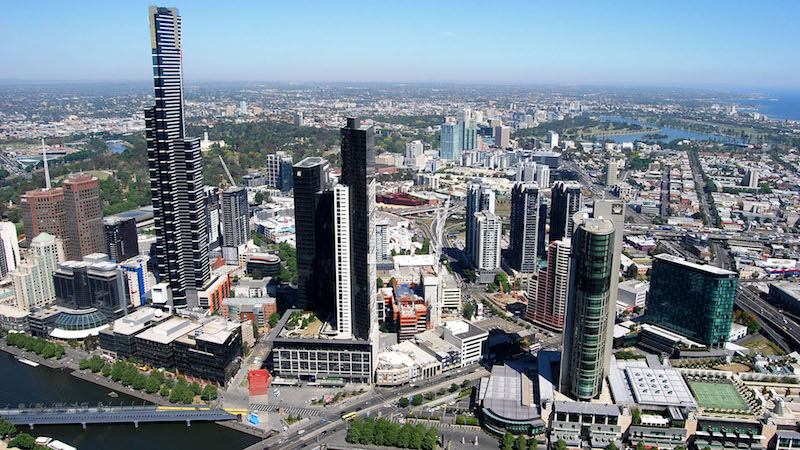 Melbourne Observation Deck on the Rialto Towers