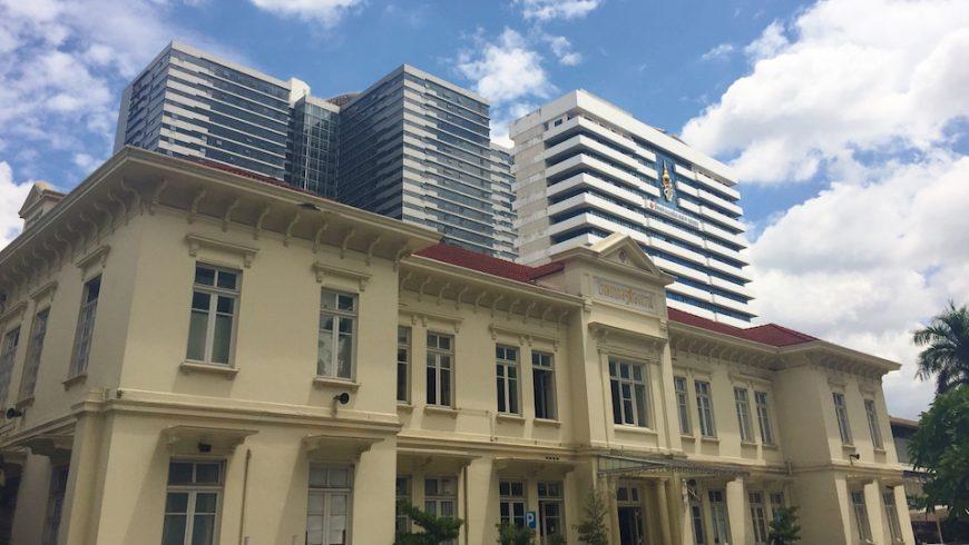 Chulalongkorn Hospital in Bangkok
