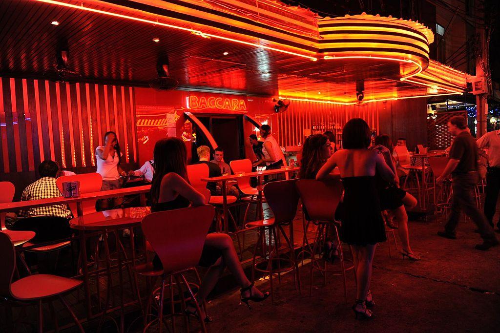 Red-light zone at Soi Cowboy, Bangkok