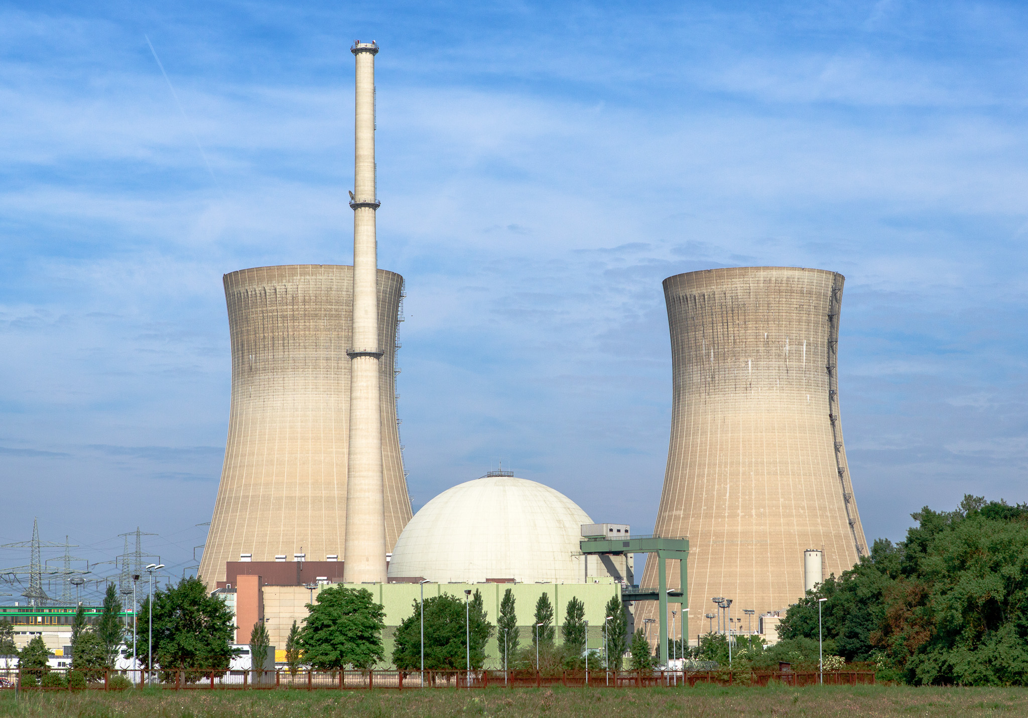 Grafenrheinfeld nuclear power plant in Belgium