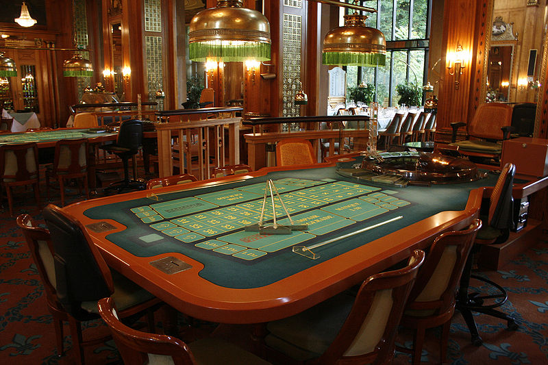 Casino table game