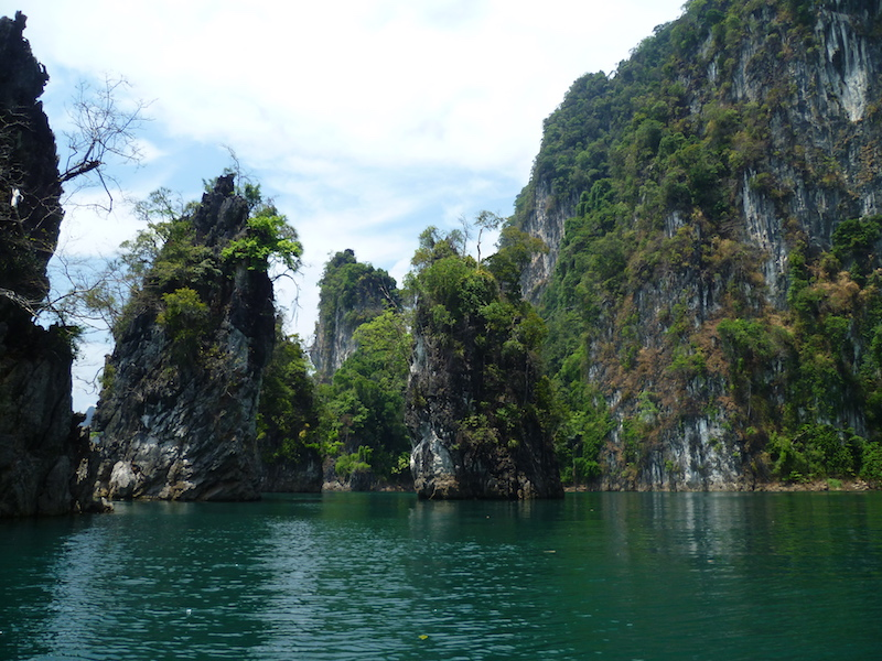 Islets in the Cheow Lan Lake, Khao Sok National Park