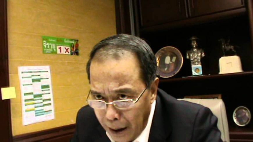 Chusak Sirinil, Pheu Thai's legal adviser