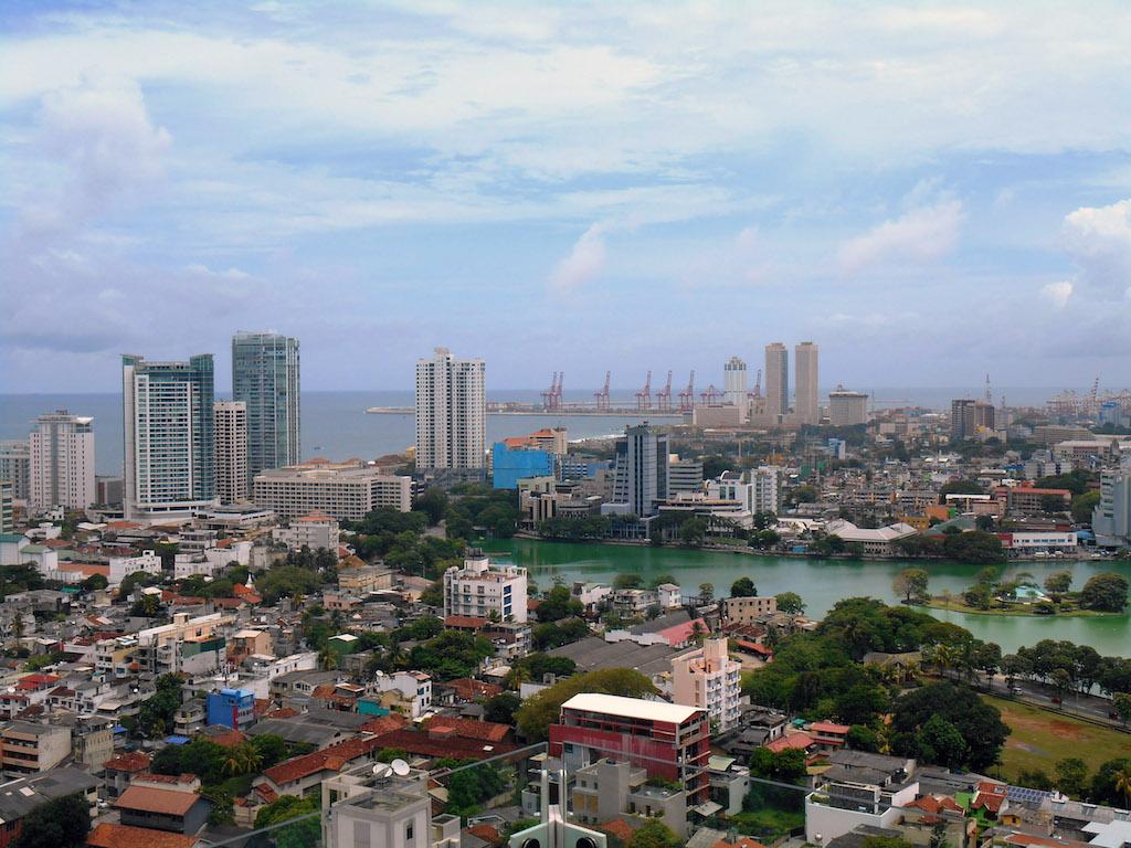 Colombo City in Sri Lanka