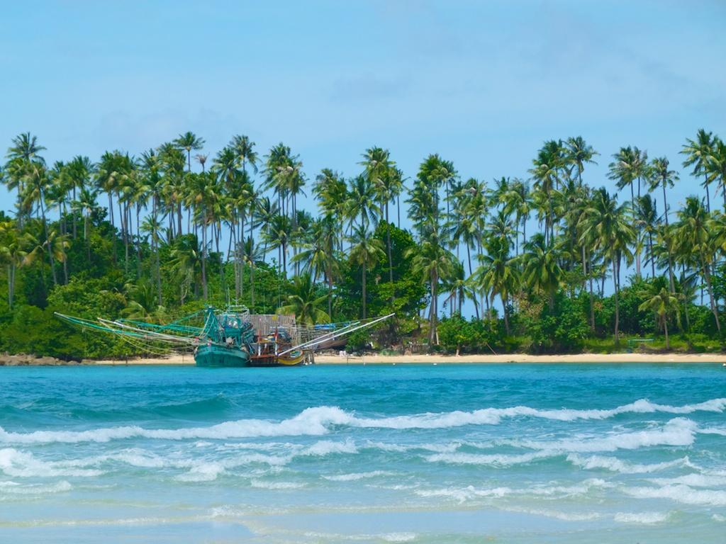Fishing boats in Koh Kut Island