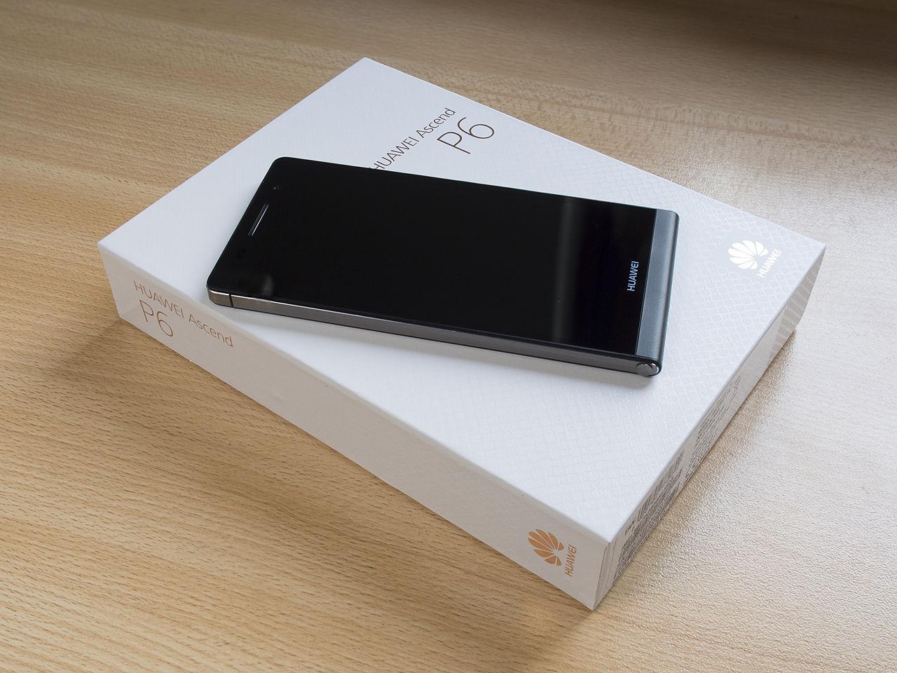HUAWEI Ascend P6 smartphone