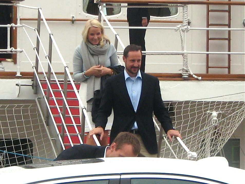 Haakon, Crown Prince of Norway, and Mette-Marit, Crown Princesse of Norway