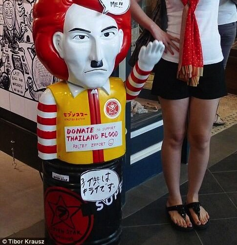 Fried chicken takeaway called 'Hitler' opens in Bangkok