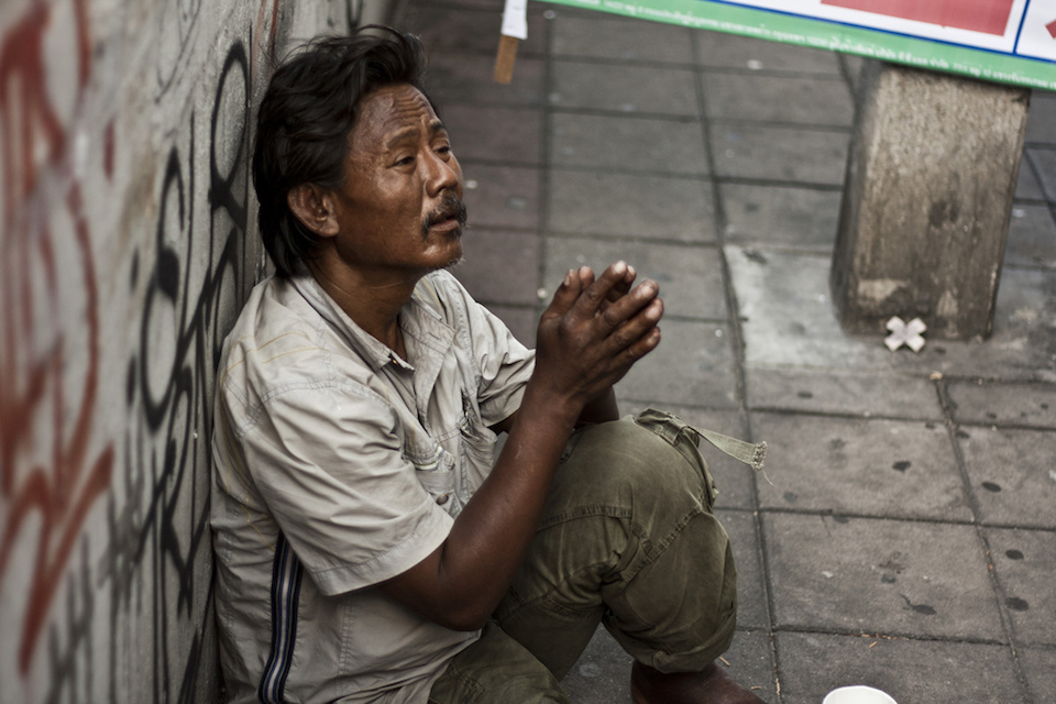 homeless in thailand Steve is homeless the 59-year-old isn't living rough on the streets of london or his home town of manchester though he's sleeping rough thousands of.