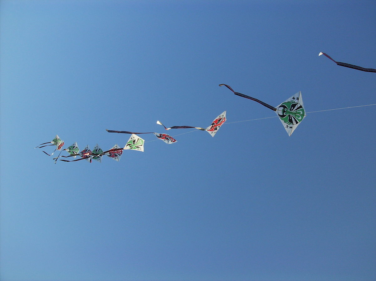 Connected kites