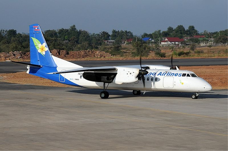 Lao Airlines Xian MA60