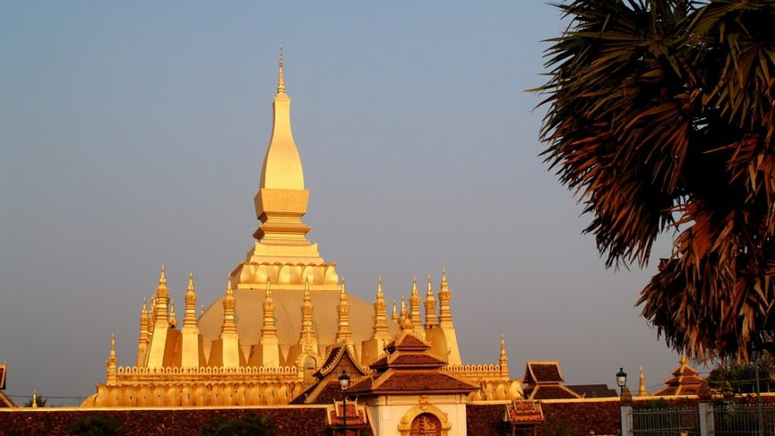 Golden Pagoda in Laos