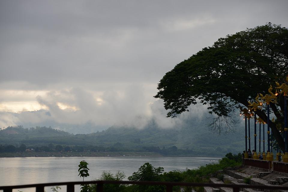 Landscape in Loei province
