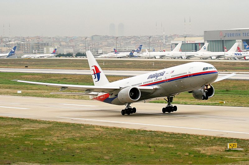 Malaysia Airlines Boeing 777-200ER taking-off