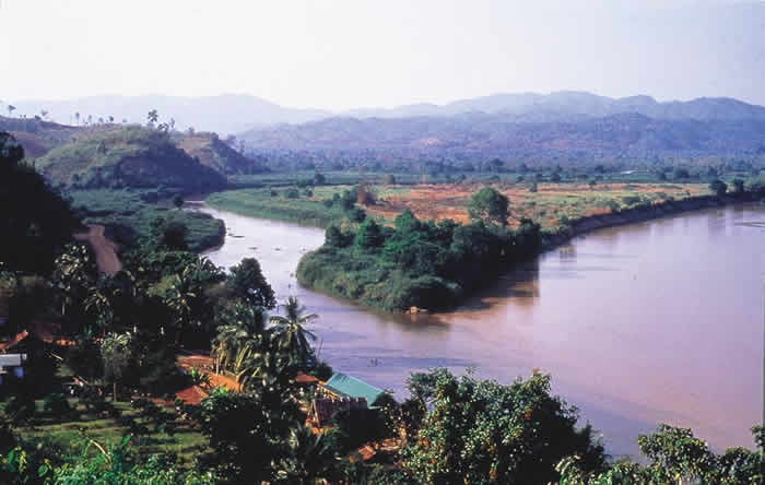 The Mekong River and the Golden Triangle