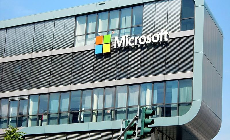 Microsoft buildings in Europe
