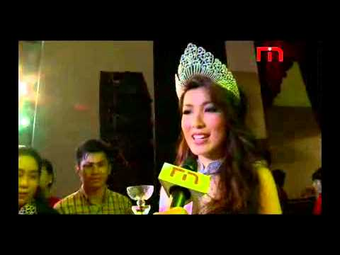 Video: First Miss Universe Myanmar since 1961 crowned