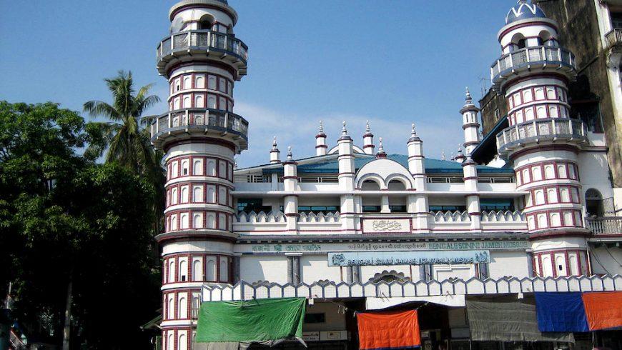 Bengali Sunni Jameh mosque in Yangon, Myanmar
