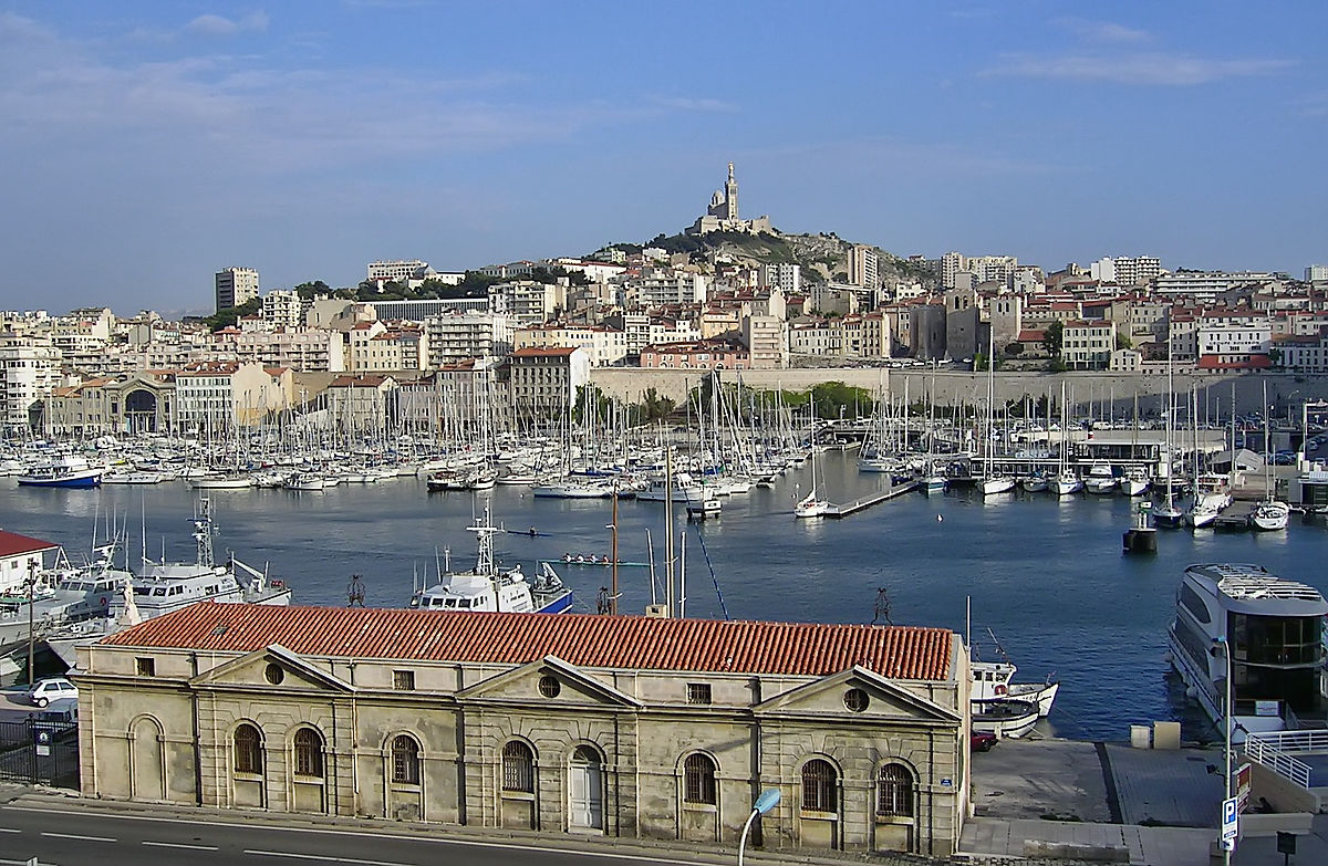 The Old Port of Marseille, France