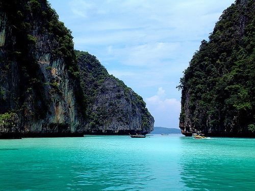 State power coming to Phi Phi island, Thailand