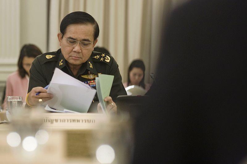 Leader General Prayuth receives royal endorsement