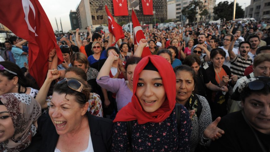 Taksim square peaceful protests