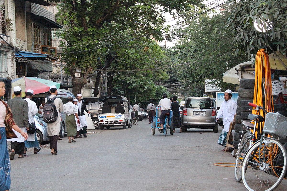 Rohingya Muslims in Yangon, Myanmar
