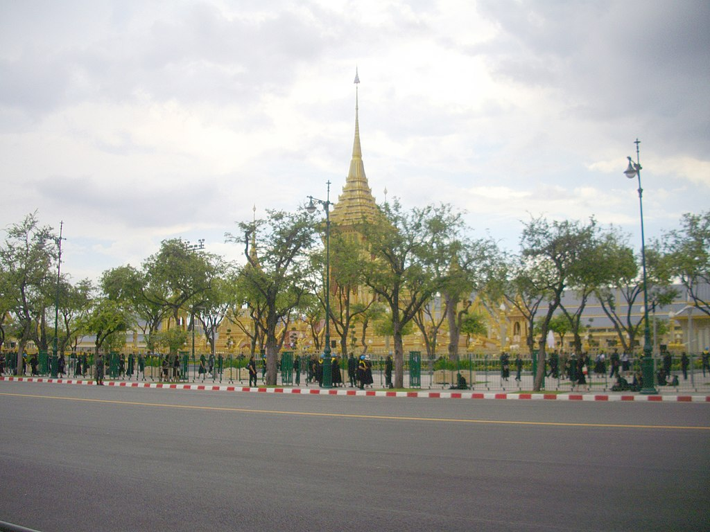 Royal crematorium of King Bhumibol Adulyadej