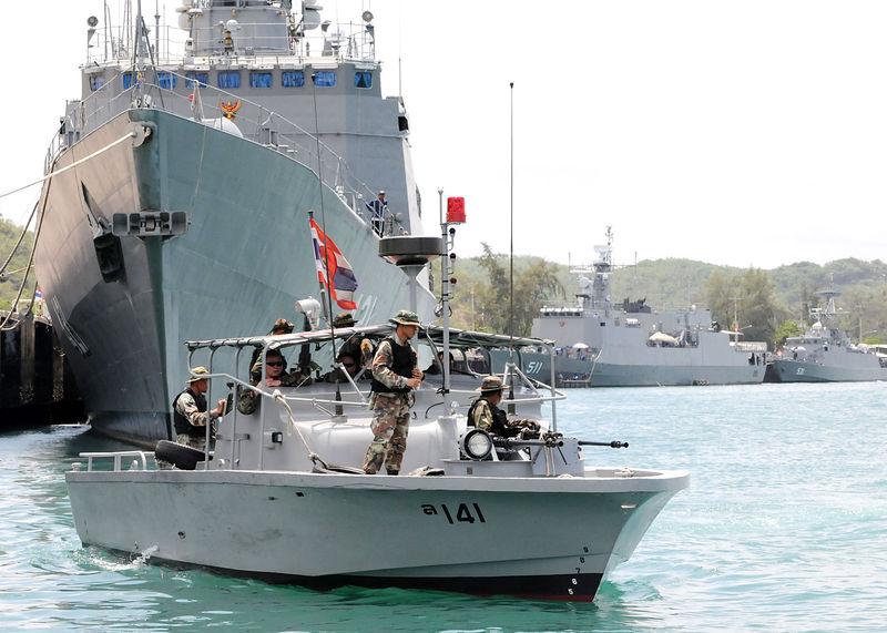 Royal Thai Navy patrol boat