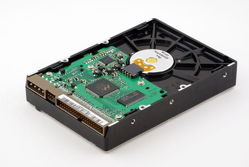 A Samsung HD 400 LD hard disk drive