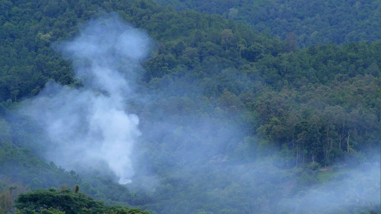 Smoke haze crisis in Northern Thailand