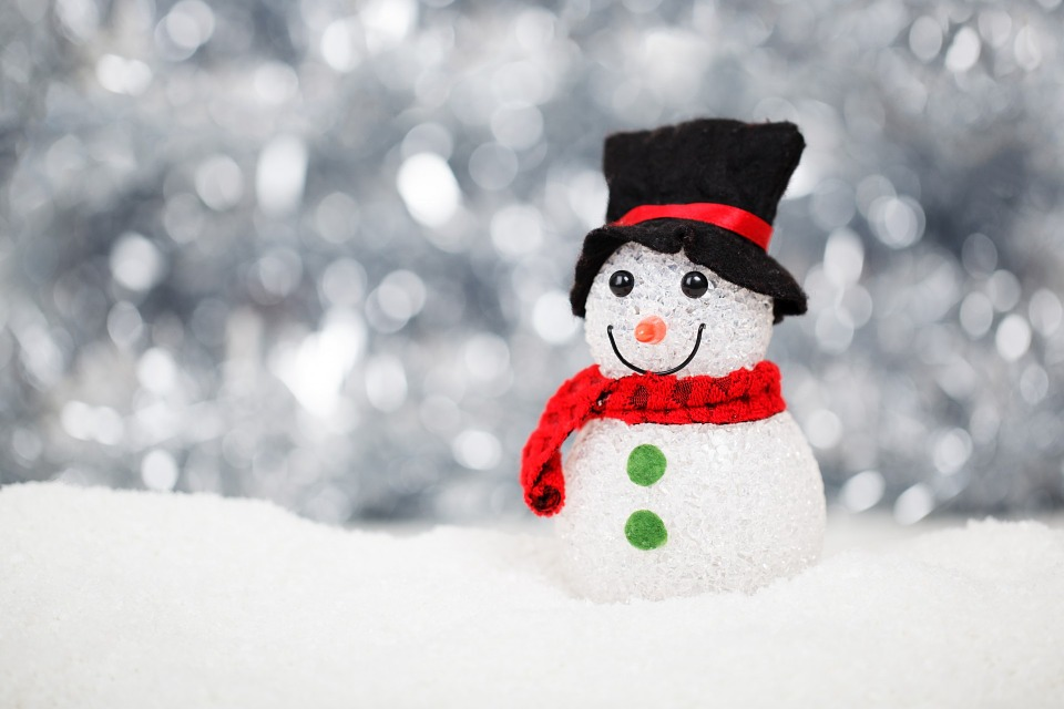Snowman in Christmas