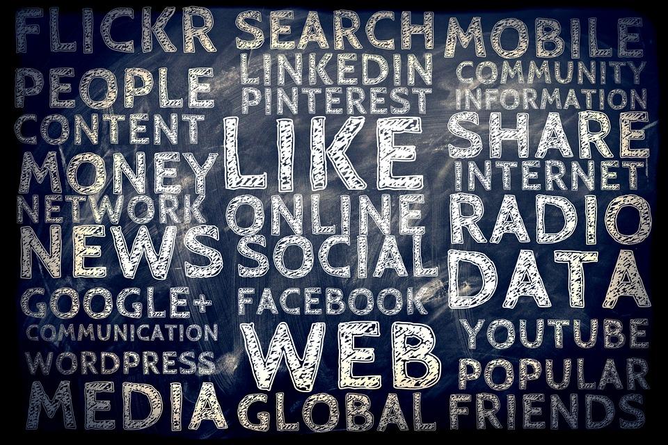 Social media words