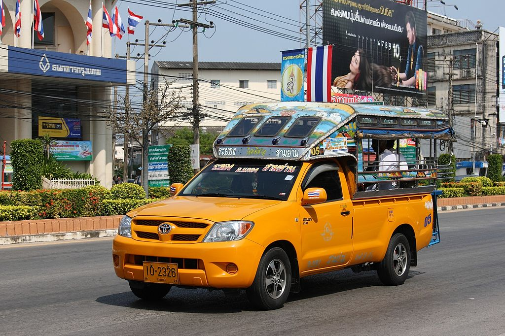 Songthaew in Rayong