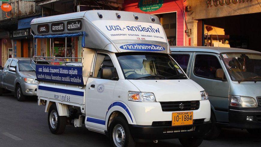 Suzuki Songthaew in Trang