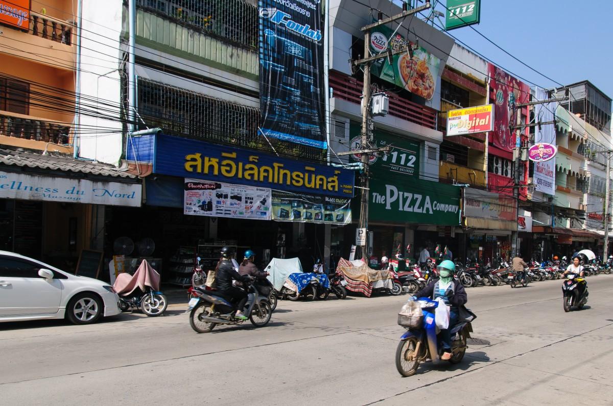Street in Mueang Chiang Rai,