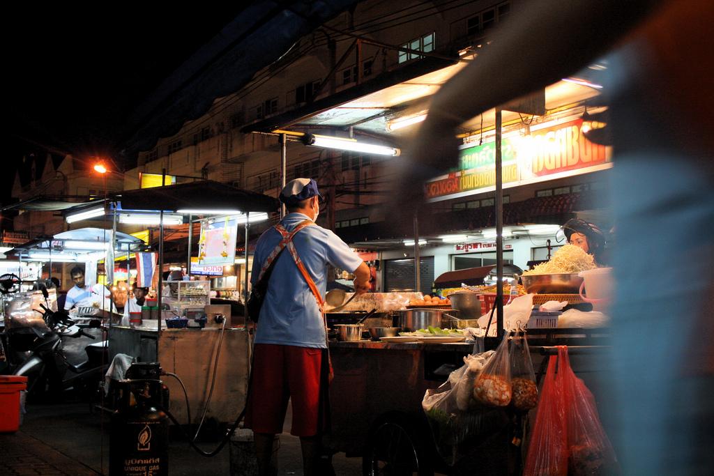 Street food in Chumphon