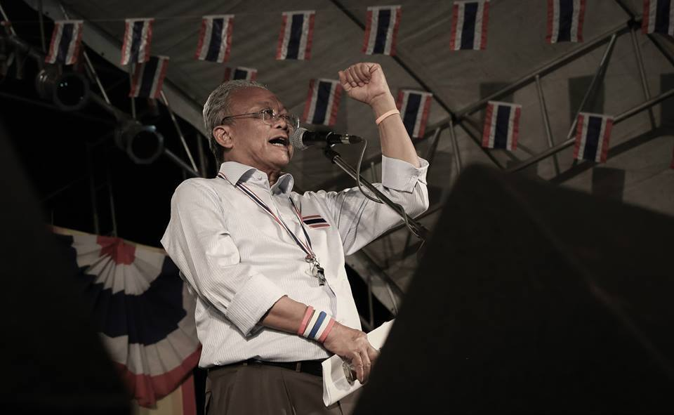 Anti-government protest leader Suthep to face court on January 8 over 2010 crackdown