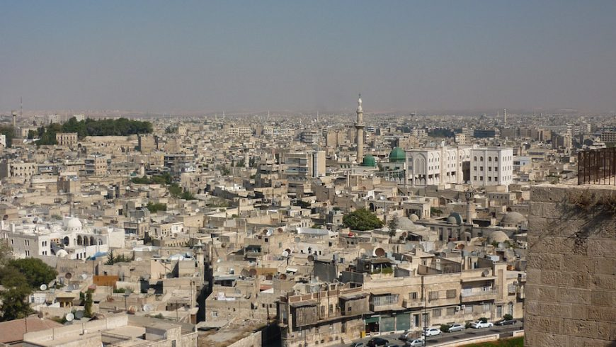 View of Aleppo in 2009