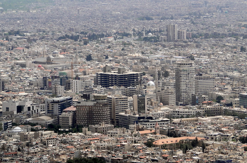 View of Damascus, Syria