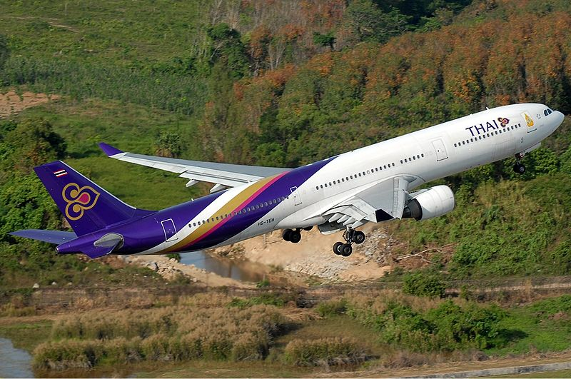 Video: Thai Airways Airbus A330 Accident on Landing at Bangkok