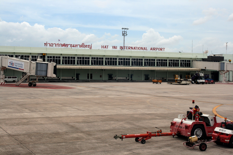 Hat Yai International Airport in Songkhla