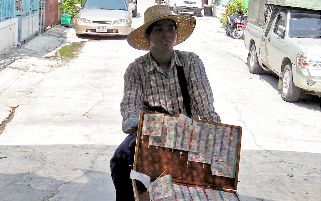 Thai Lottery vendor