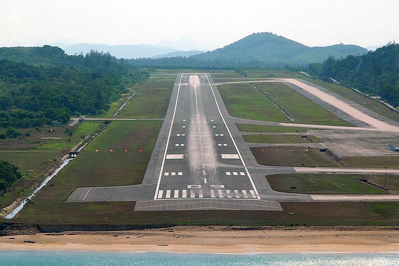Phuket International Airport runway