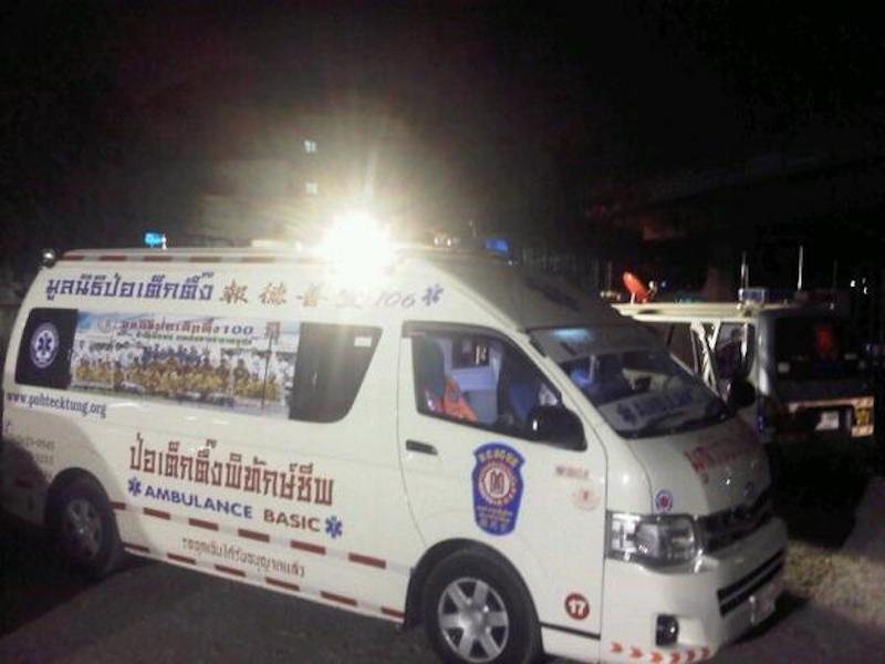 Six hurt in bombing near Bangkok protest site