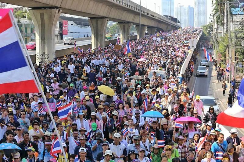 """Bangkok Shutdown"" campaign rallies to begin on Sunday"